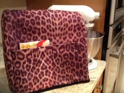 Leopard Print Stand Mixer Cover